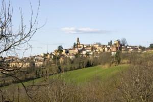 Il paese di San Salvatore Monferrato.