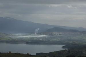 Regalbuto (EN) e il lago Pozzillo