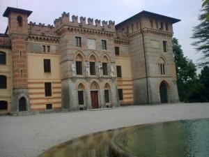 """""""Facciata"""" del Castello Cecconi"""
