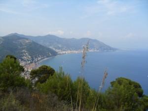Vista sul mare di Laigueglia
