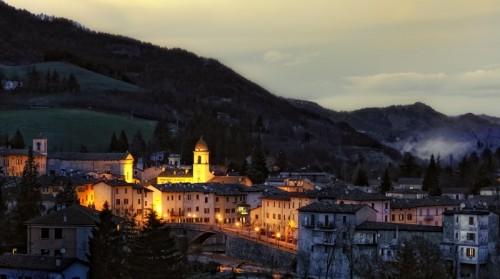 Rocca San Casciano - Ultime e prime luci