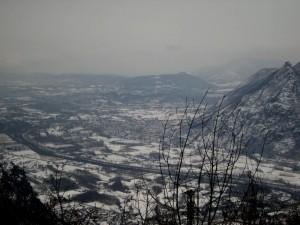panorama di Chiusa San Michele e la Sacra