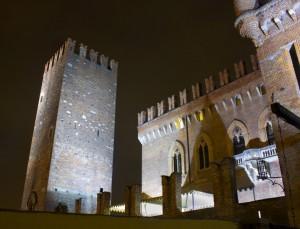 Particolare del castello di Carimate