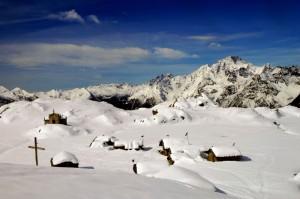 Un alpeggio rifugio