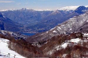 I laghi di Lecco e Lugano