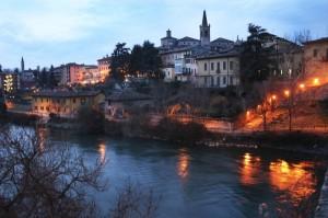 Cassano d'Adda (MI) visto dal ponte