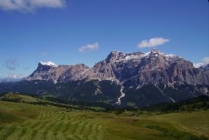 Panorama dai prati del Cherz