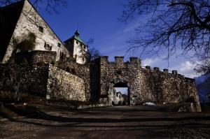 Inside Castel Ivano