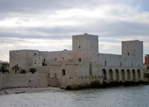 nel castello di Trani  la contessa Siffridina fu tenuta prigioniera