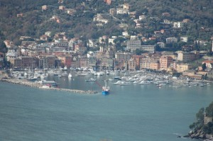Veduta di Rapallo.