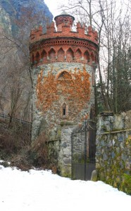 era l'ingresso al castello