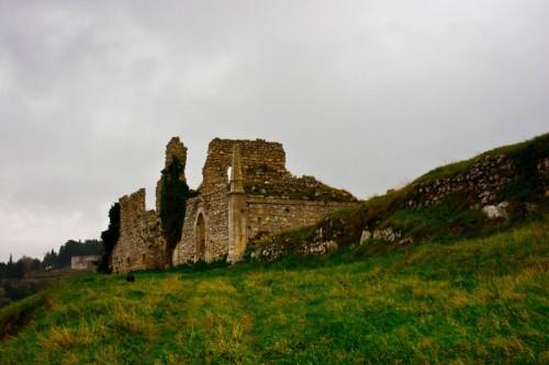 Buscemi - i resti del castello