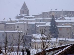 Tetti di Rovere innevati (febbraio 2006)