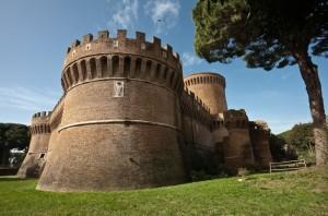 Ostia Antica Castello Giulio II