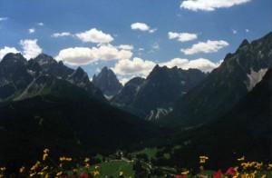 Sesto, quel che vedi salendo al monte Elmo: Croda rossa e Croda dei Toni