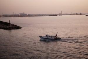 Tramonto a Porto Torres