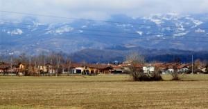 Panorama di Borriana