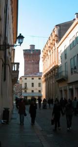 La torre da corso Palladio