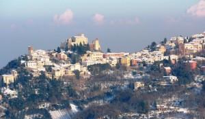 I colori invernali di Verucchio