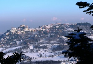 Panorama di Verucchio