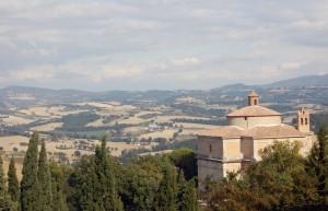Uno sguardo verso le colline
