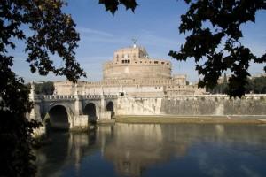 Castel Sant'Angelo sul fiume Tevere