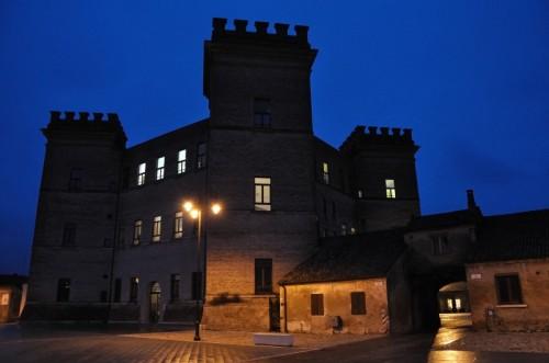 Mesola - Castello di Mesola nell'ora blu