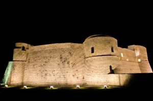 Castello Ortona Night