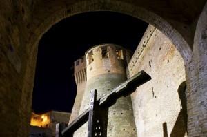 """"""" Entrata nel  Fossato """"  - Rocca Mondavio -"""
