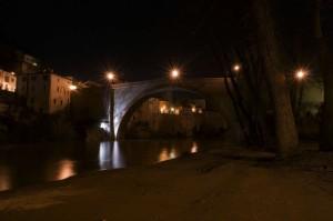 Sotto il Ponte Fossombrone Night