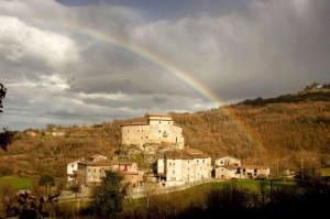Altro Arcobaleno su - Castel di Luco -
