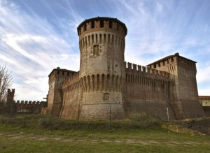 """""""La torre cilindrica della Rocca Sforzesca"""""""