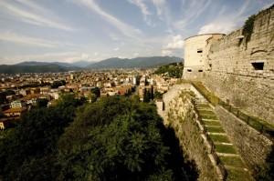 Dal colle Cidneo, uno sguardo su Brescia
