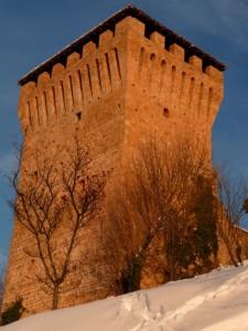 il castello di Sarzano di Casina