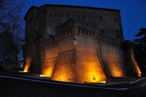 Notturno a Dozza - La Rocca