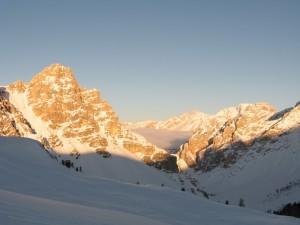 Tramonto in Val Badia