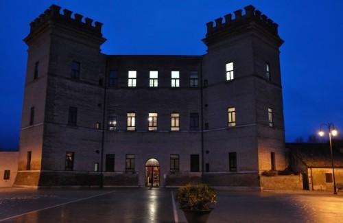 Mesola - Notturno a Mesola - Il Castello