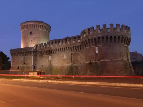 Roma - Notturno con fanale