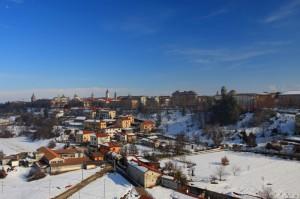 Cuneo vista dal viadotto Soleri