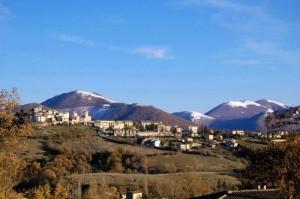 Prima neve a Monteleone di Spoleto