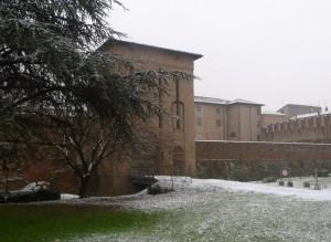 Una spolverata di neve sulla Cittadella