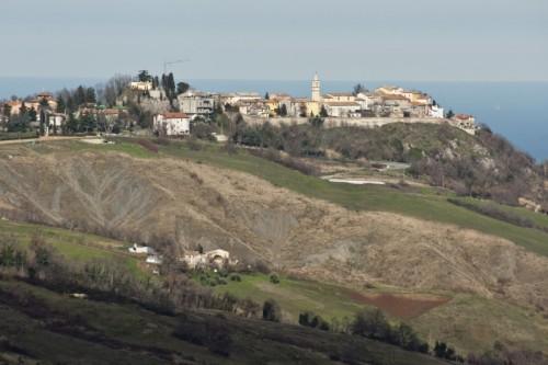 Sassofeltrio - Il paese si affaccia sul mare