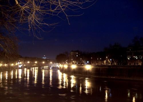 Roma - Lungotevere di notte 2