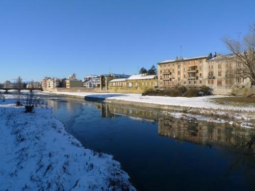 Parma - Riflessi nel torrente