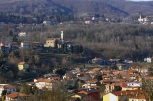 Ghevio e la frazione Silvera, Alto Vergante