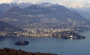 Verbania e Isola Madre vista da Alpino