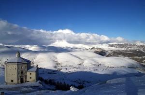 Bellissimo panorama anche con la neve