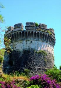 Torre del castello di Belvedere