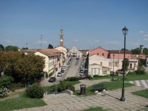 Panorama di Castelmassa