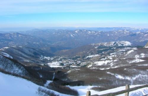 Santo Stefano d'Aveto - santo Stefano D'Aveto dal Monte Bue